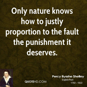 Percy Bysshe Shelley Nature Quotes