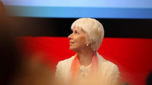 Gail Kelly : A year of consolidation. Photo: Rob Homer