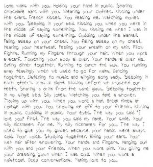 Quotes About Missing Your Ex Boyfriend Missing your ex boyfriend