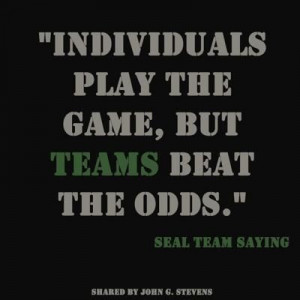 Navy Seal team quote