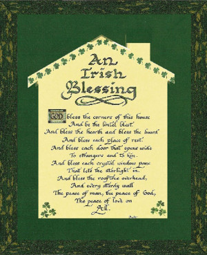 Irish Wedding Blessing Framed – Creative Irish Gifts | Authentic