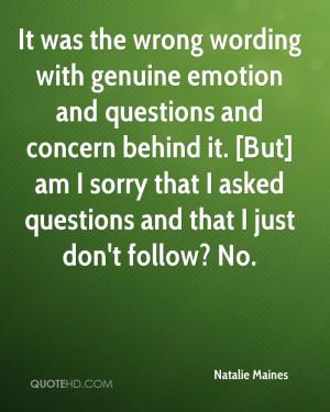 Natalie Maines Quotes