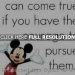 mickey mouse, quotes, sayings, can come true, dreams mickey mouse ...