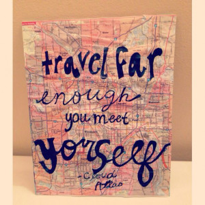 Cute canvas and love the quote!