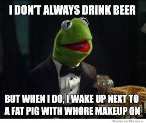 The Most Interesting Kermit in the World