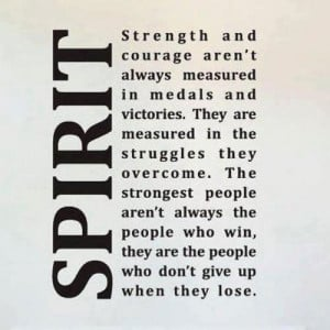 Strength and Courage