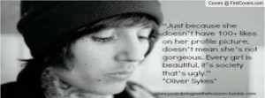 oliver sykes quotes Profile Facebook Covers