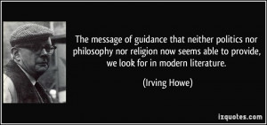 More Irving Howe Quotes