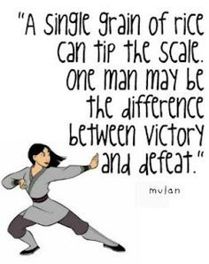 Disney Quotes mulan More