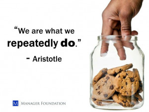 Even though this is a portion of the quote....Aristotle's words apply