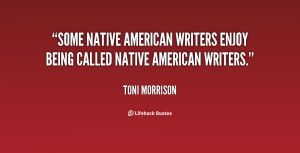 Some Native American writers enjoy being called Native American ...
