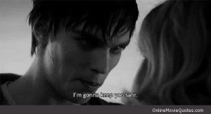 Sweet quote from a scene in the new 2013 movie Warm Bodies.