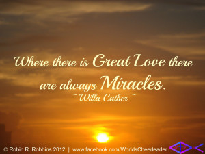 Quotes About Miracles