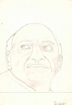Ironman Of India Sardar Vallabhbhai Patel Painting