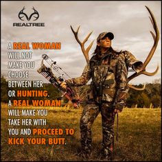 womenhunt girl hunting quotes, women hunt, fishing quotes ...