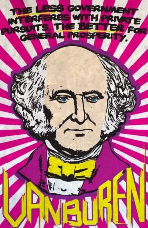 Martin Van Buren Print 11x17 Famous Seniors by senioritis on Etsy, $15 ...