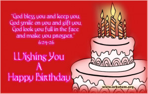 Bible Verse Birthday Cards