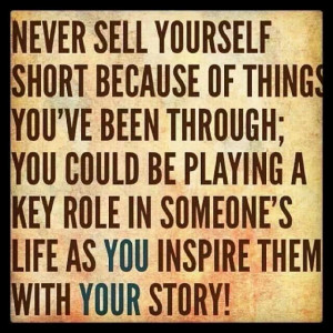 Never Sell Yourself Short