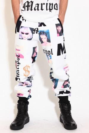 ... リッチ)】JOYRICH ×MARIPOL Maripol Portraits Sweat Pants パンツ