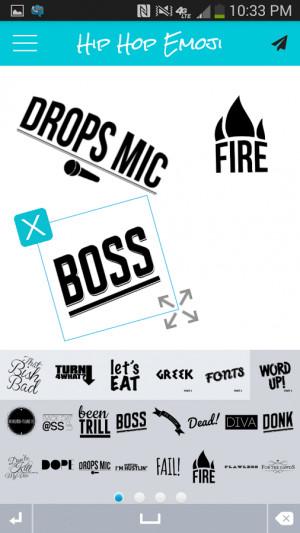 description welcome to hip hop emoji the original emoji app featuring ...