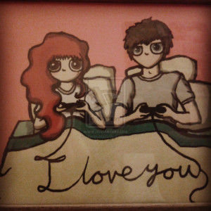 Gamer love by Chubmound95