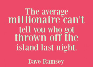Financial Peace Through Dave Ramsey