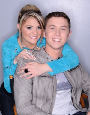 Scotty McCreery With His Girlfriend Lauren Alaina In These Pictures ...