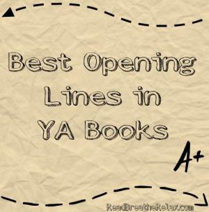 best opening lines in literature