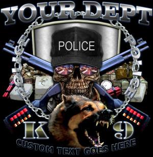 Police K-9 Law Enforcement Shirt