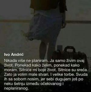 Sitnice su sreca :) Ivo Andric: Sitnic Su, Misli, Sitnic Ali