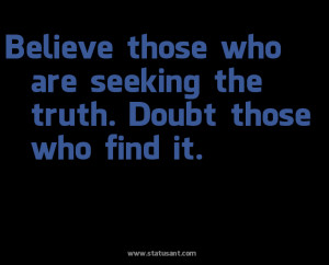download now Its about Seeking The Truth Believe Picture