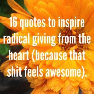 Great in times of Quotes About Generosity and Giving liberty quot ...