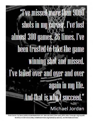 Words to Live By Wednesdays: Michael Jordan