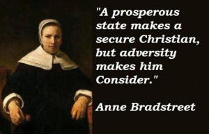 Anne bradstreet famous quotes 1
