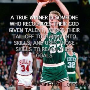 quotes88 - -Larry Bird #oldie #boston #celtics #33 #basketball #quote ...
