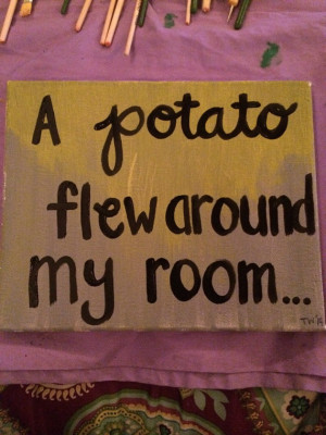 Funny Vine Quote Painting