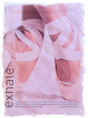 Oxygen Magazine's Exhale...always inspiring