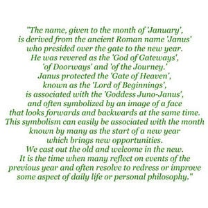 January 2012 Month Jan New Year Poem Saying Quote Text Filler ...