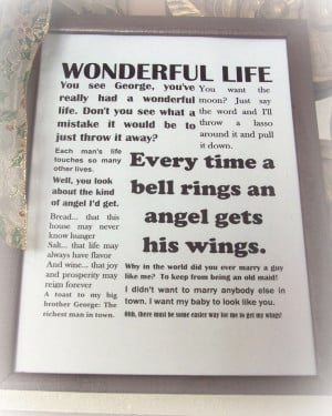 Its A Wonderful Life Quotes. QuotesGram