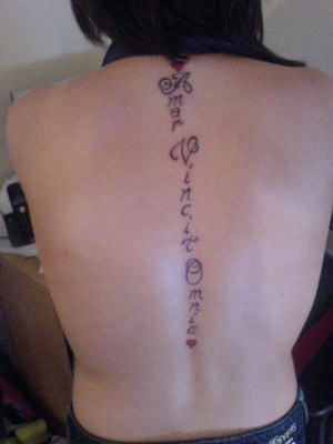 Latin Tattoos Designs, Ideas and Meaning