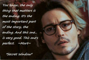 The ending ~ Secret Window