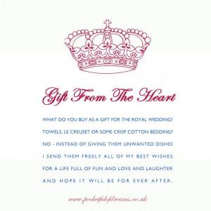 Royal Wedding Poem, Royal Wedding, Crown Poem, Royal Wedding ...