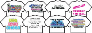 cheer quotes 100 of the most inspiring and cool sayings for t shirts ...