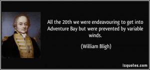 More William Bligh Quotes