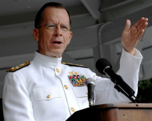 Chairman of the Joint Chiefs of Staff Adm. Mike Mullen quote