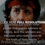 , quotes, sayings, inner power, winner sylvester stallone, quotes ...