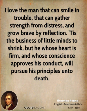 Thomas Paine Love Quotes