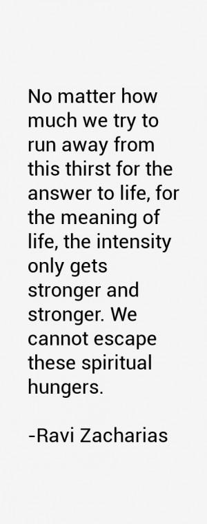 Ravi Zacharias Quotes & Sayings