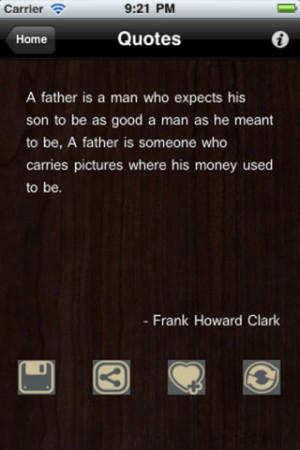 Screenshots of Father's Day Quotes (FREE)