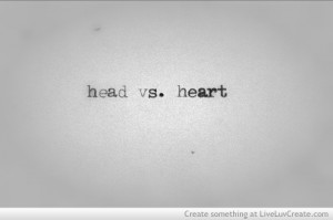 cute, head, heart, love, quote, quotes
